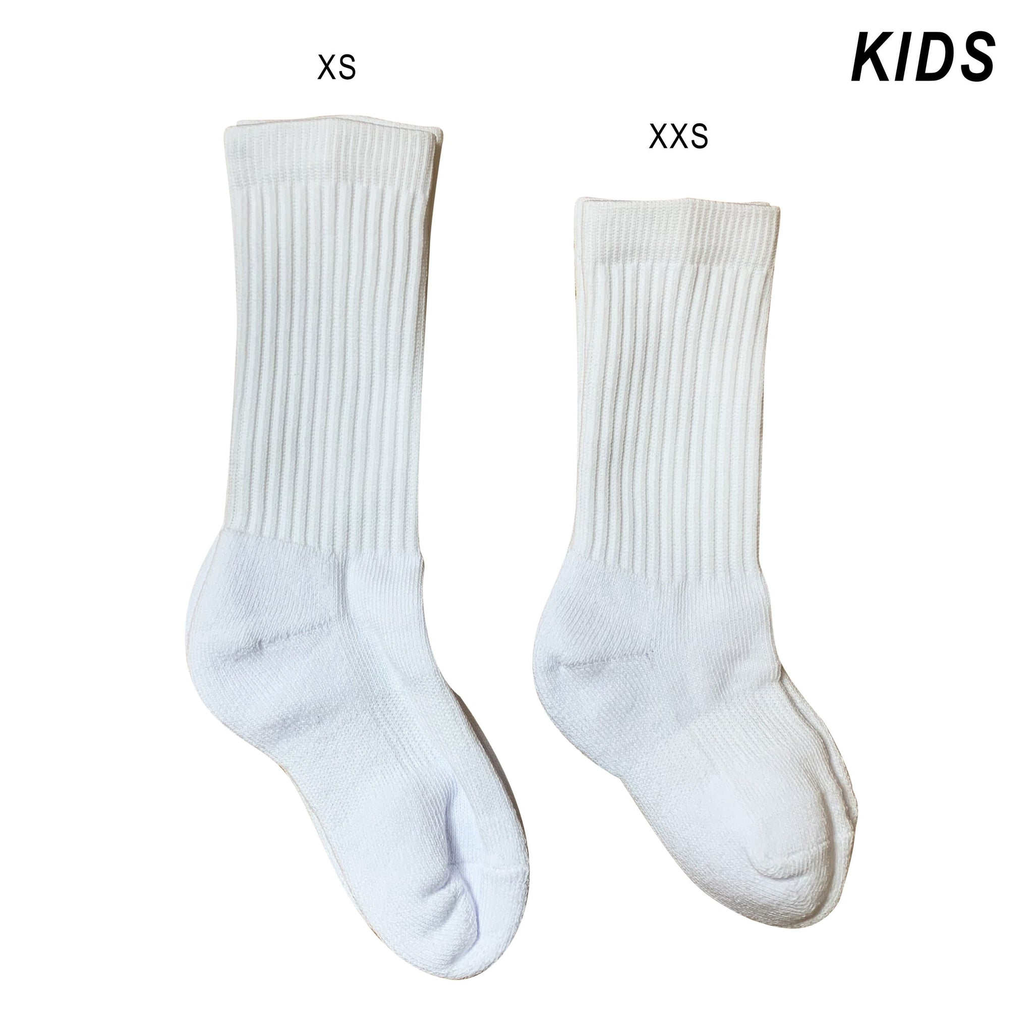Blank Kids Socks