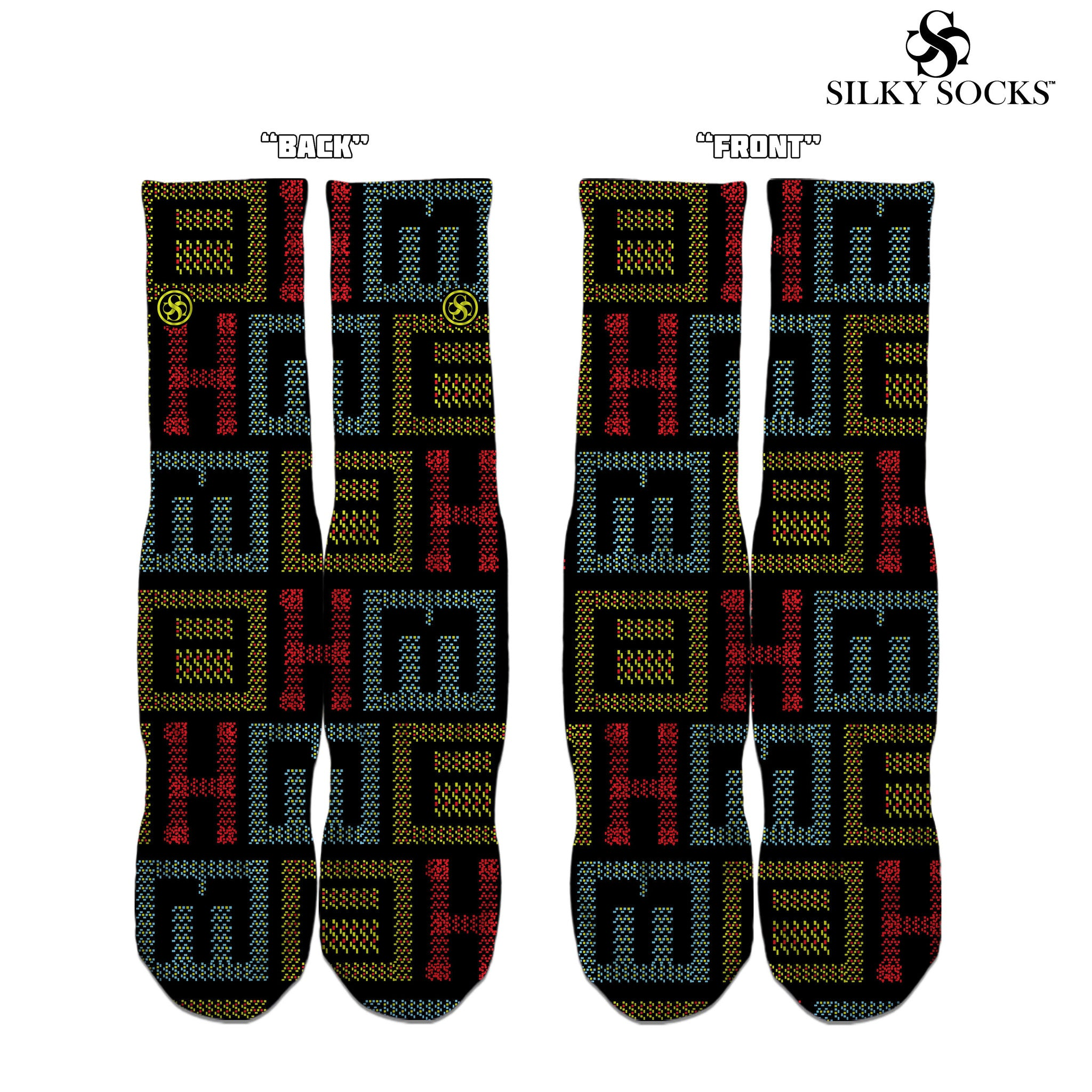 "BHM ""Woven"" Sock - SILKY SOCKS - official store"