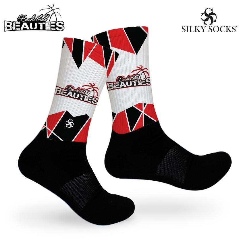 Basketball Beauties Signature Sock
