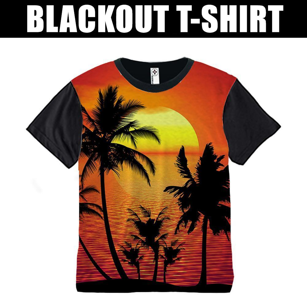 Blackout Sublimated T-Shirt - Custom