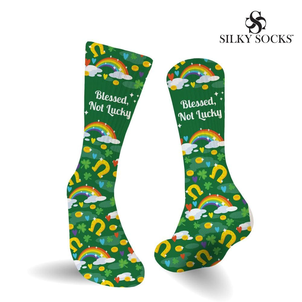 Blessed Not Lucky Socks Digital File