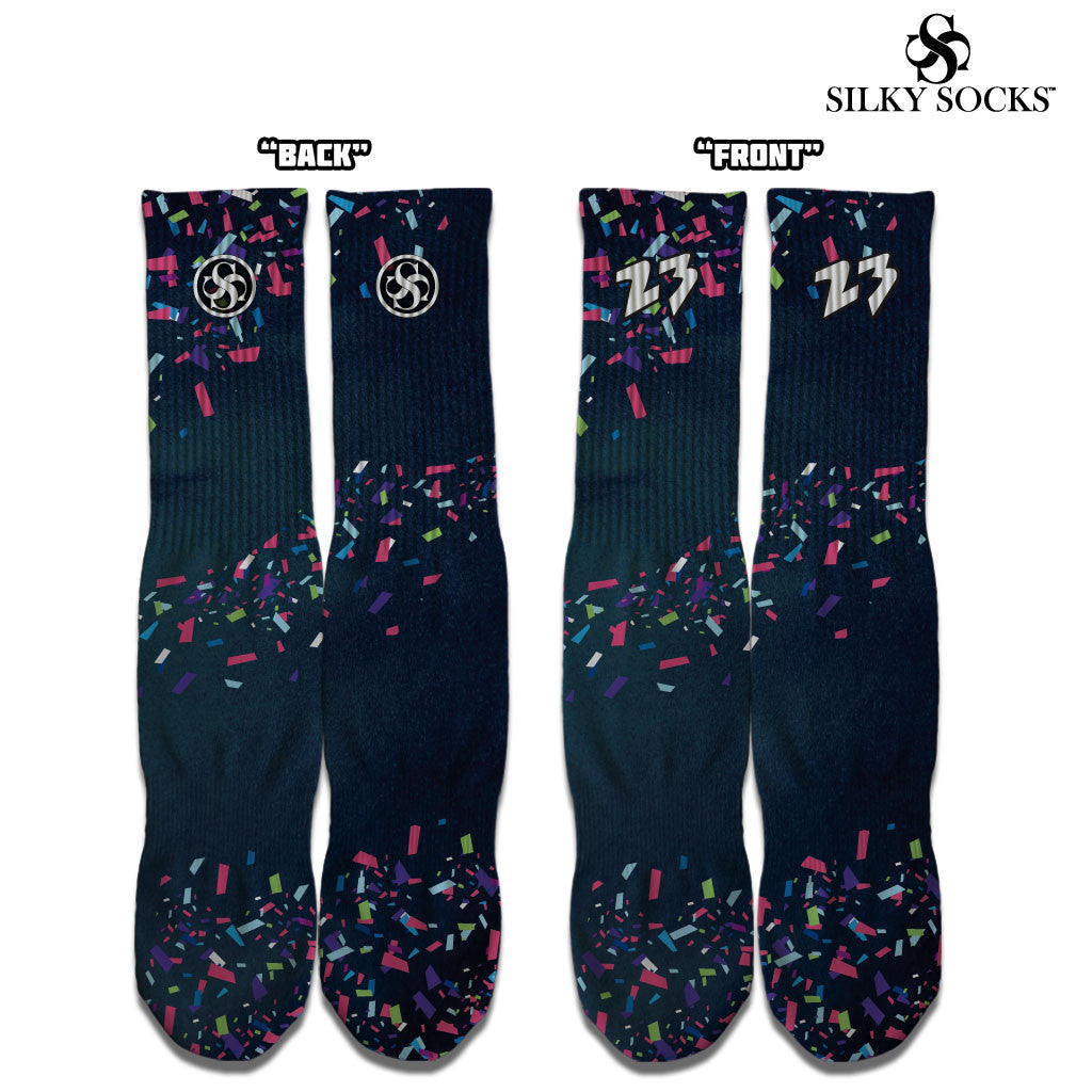 Silky Socks to match Air Jordan Cigar 8 Sneakerhead Shoes Michael Jordan All over print sublimation