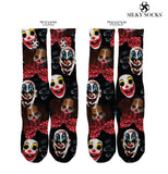 Clown Madness Custom Full Print Socks