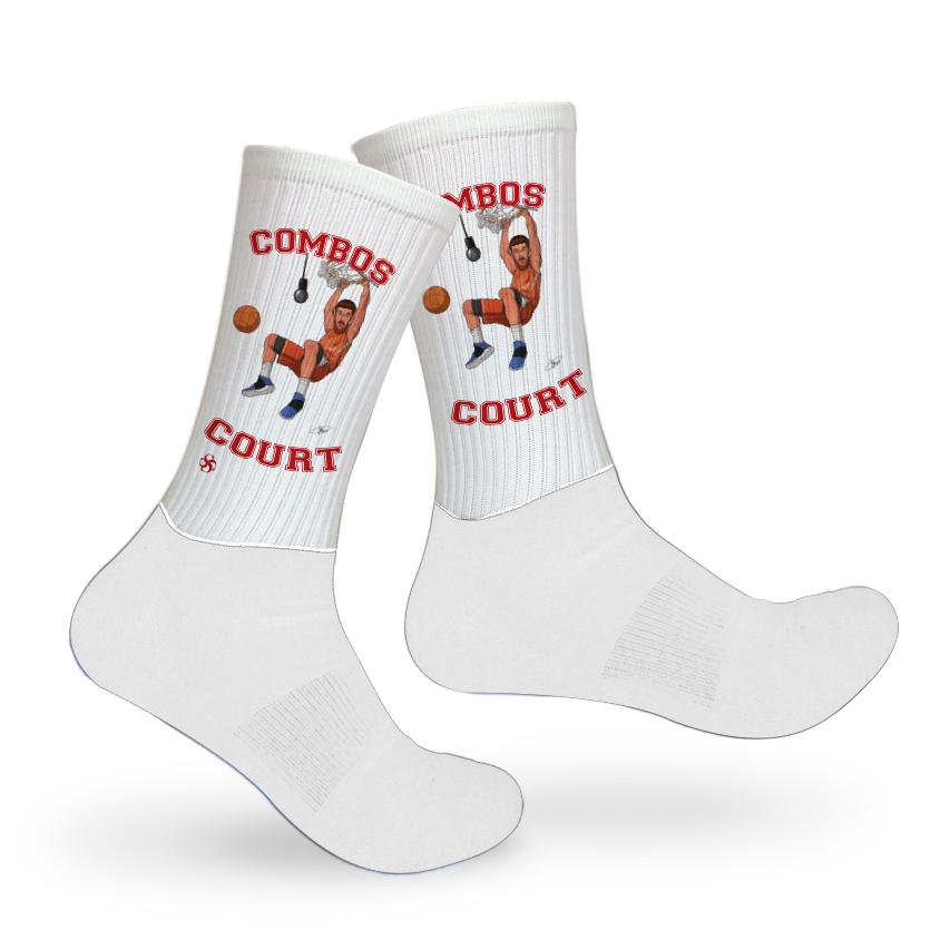 Combos Court Socks