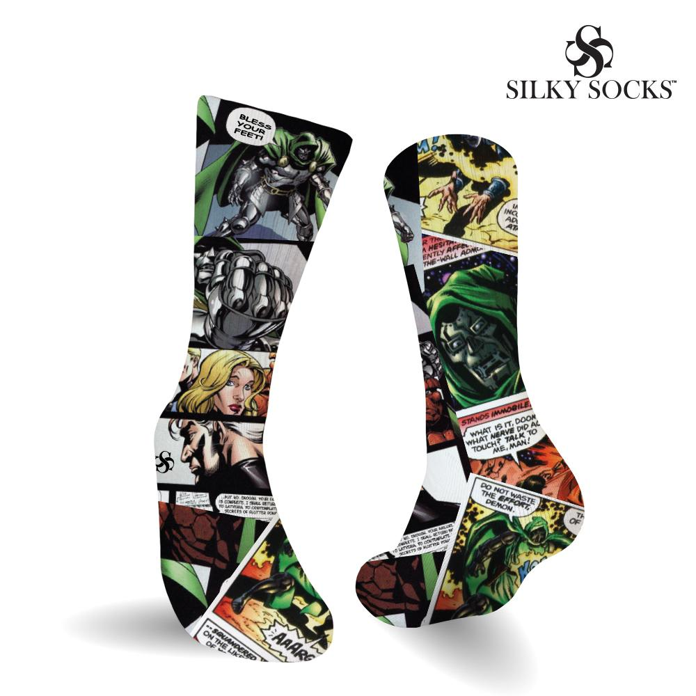 Doom Comics Socks