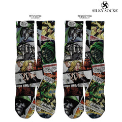 Doom Comics Custom Socks