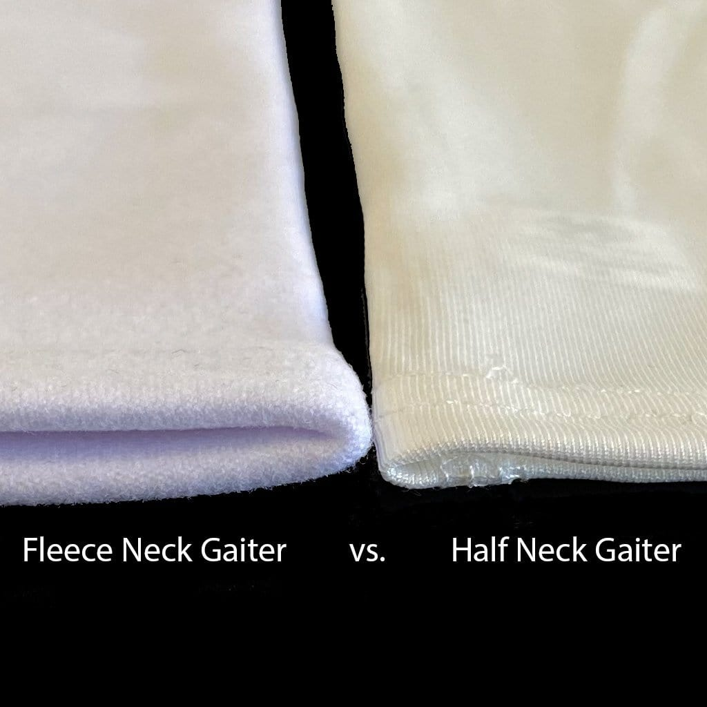 "Blank ""Fleece"" HALF Gaiters"