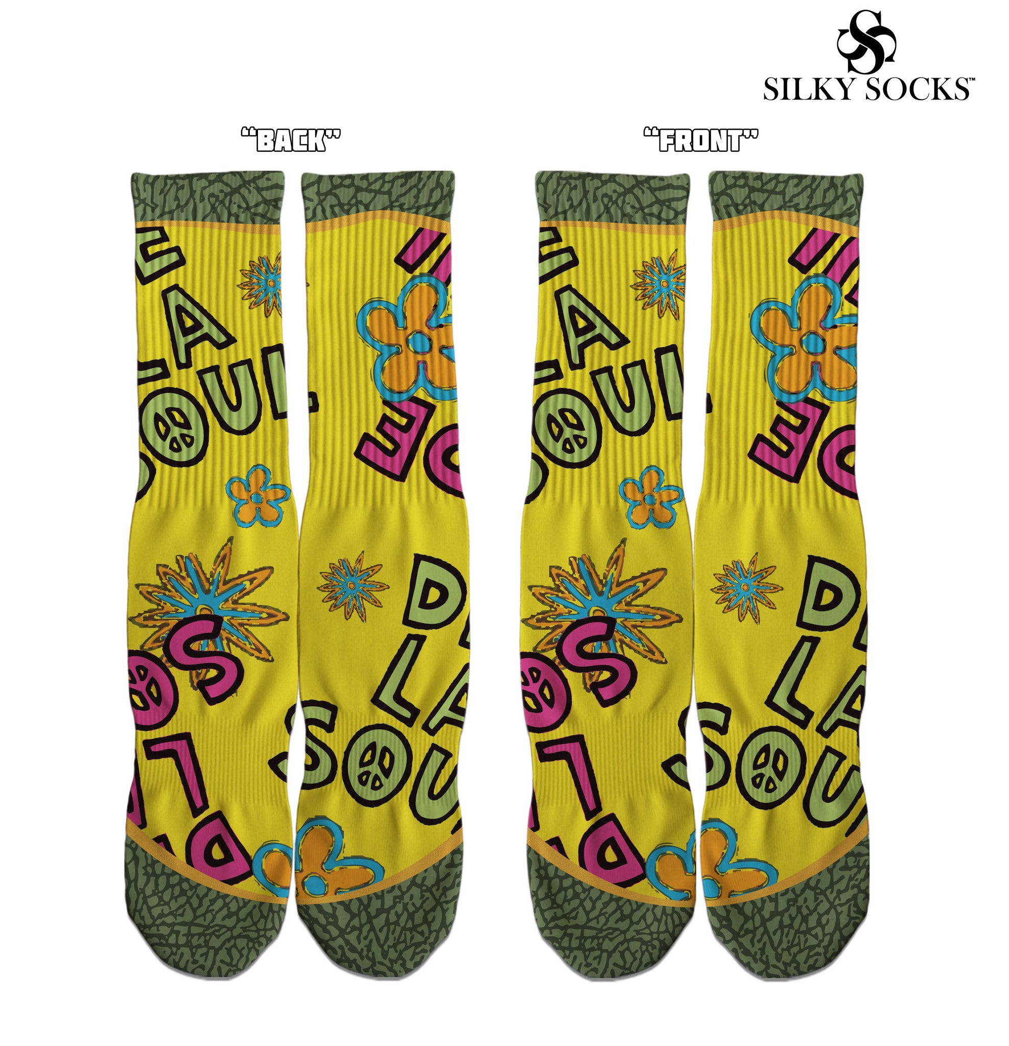 Soul Custom socks! - SILKY SOCKS - official store