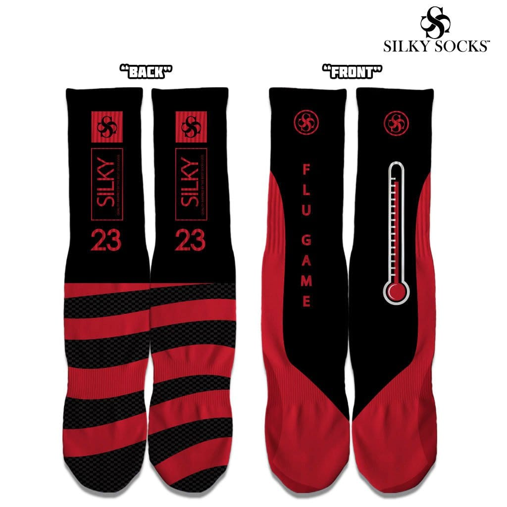 new products e791d eefaf Flu Game 12 Socks!