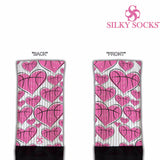 Hearts of the Game Blackfoot Socks Pink