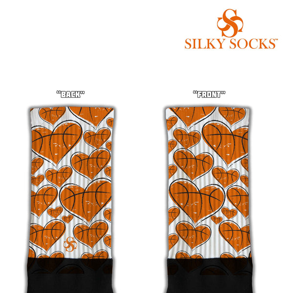 Hearts of the Game Blackfoot Socks Red
