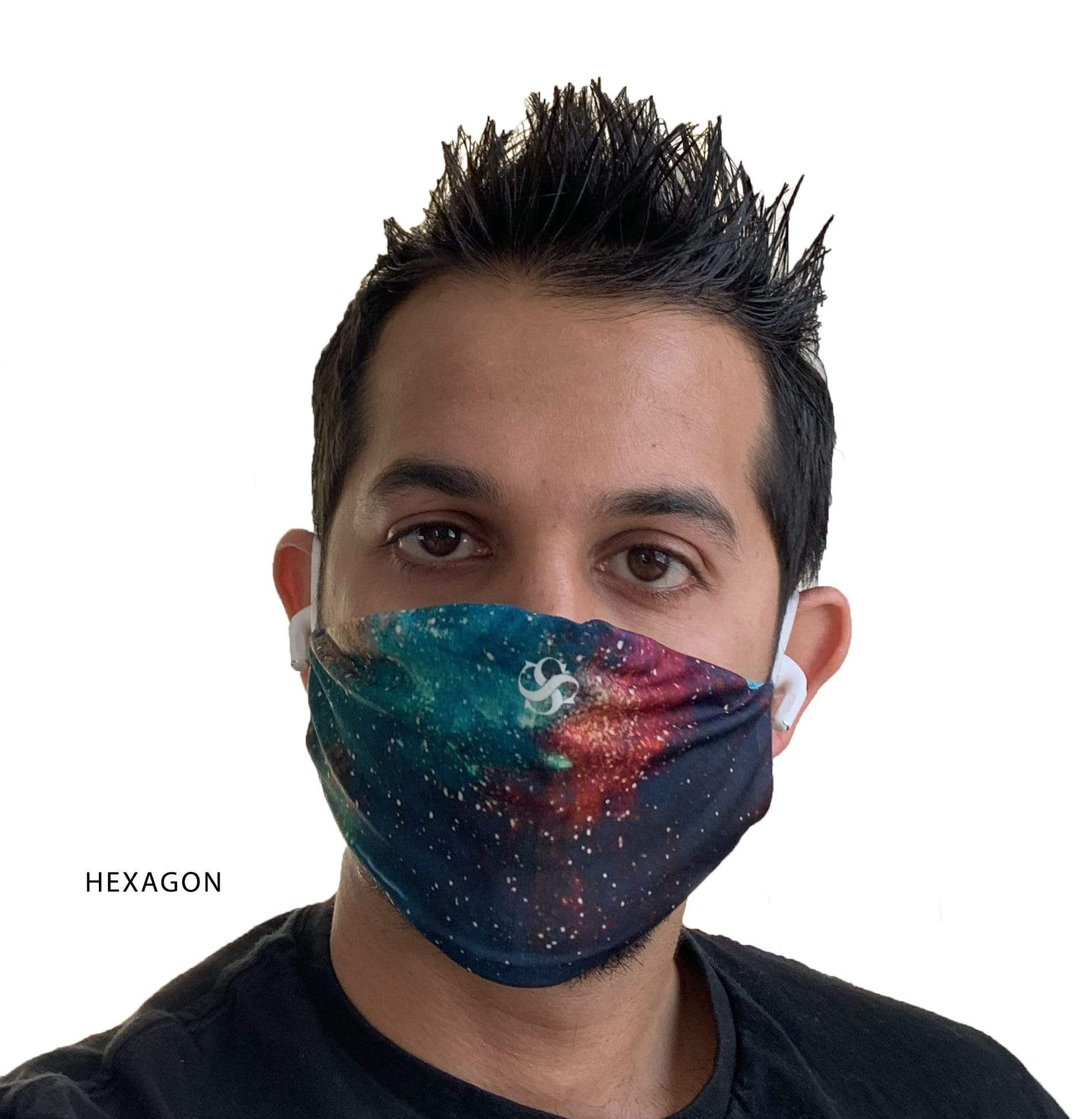 Blank Face Masks - Hexagon -*In Stock