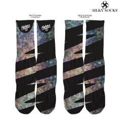 """Hologram Foamz""  Custom Socks!"