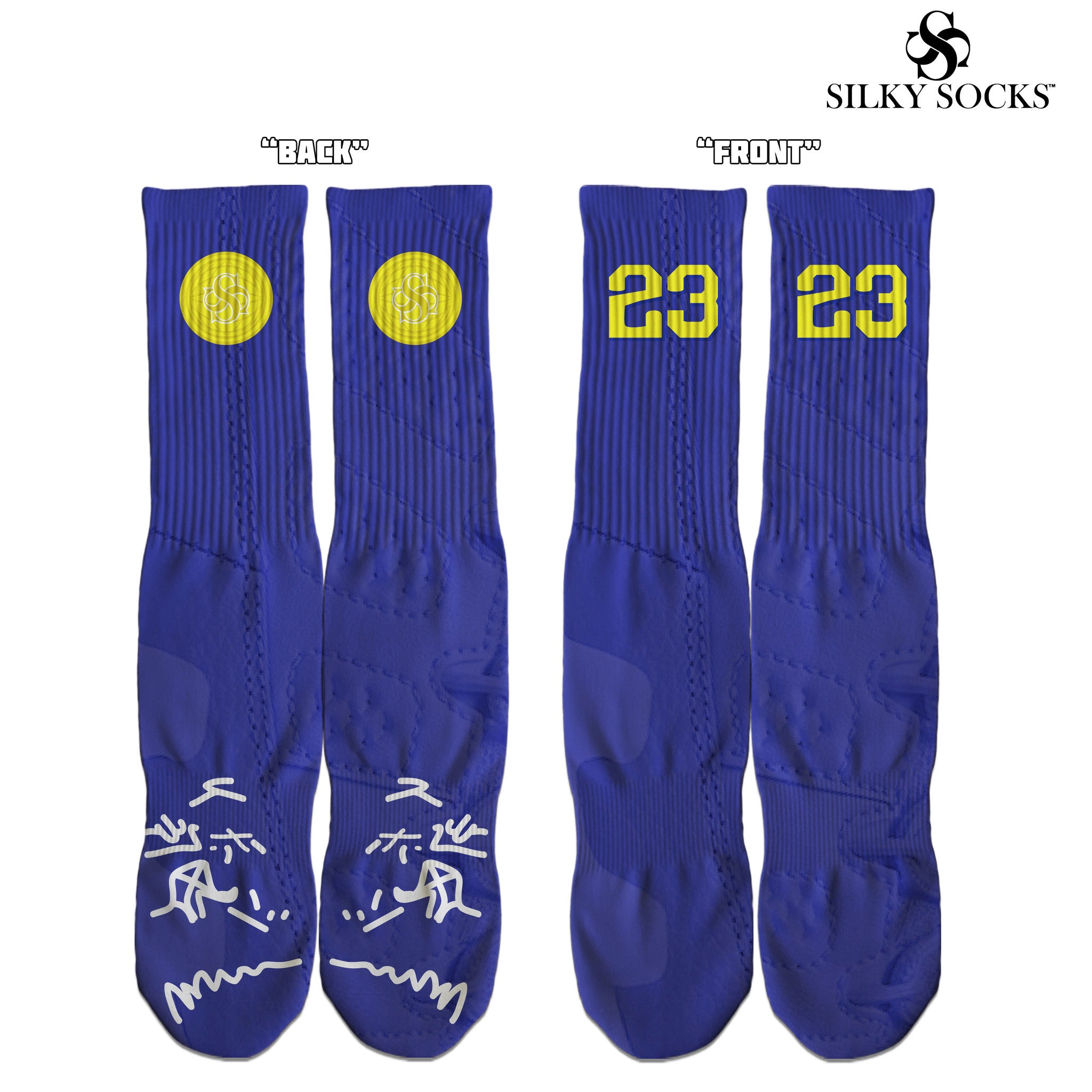 lowest price 5193e a67dd Air Jordan 9 AJ9 Kobe Custom Silky Socks Sublimation All Over Print 23 8  24. Air Jordan 9 AJ9 Kobe Custom Silky Socks Sublimation All Over Print 23  8 24