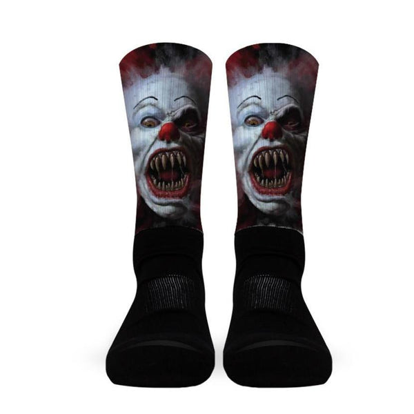 Killer Clown Socks!