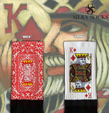 King of Diamonds Blackfoot Socks Red