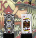 King of Diamonds Blackfoot Socks Black