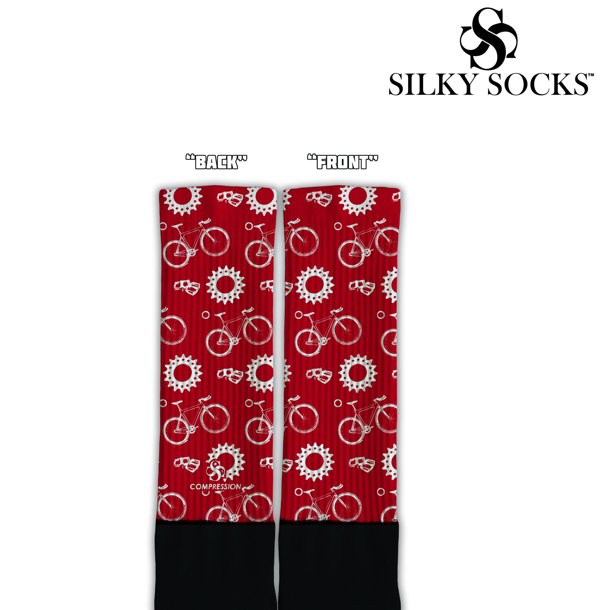 Bicycle Custom Socks! (2 colorways!) - SILKY SOCKS - official store