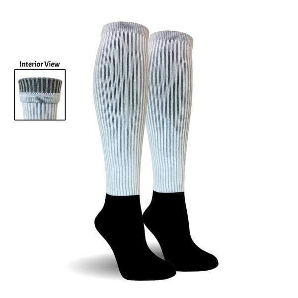 Blank Knee High Athletic Socks