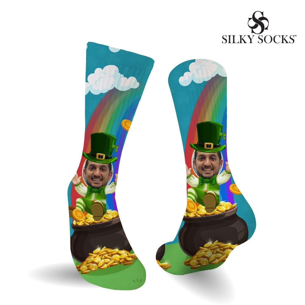 Customizable Leprechaun Socks Digital File