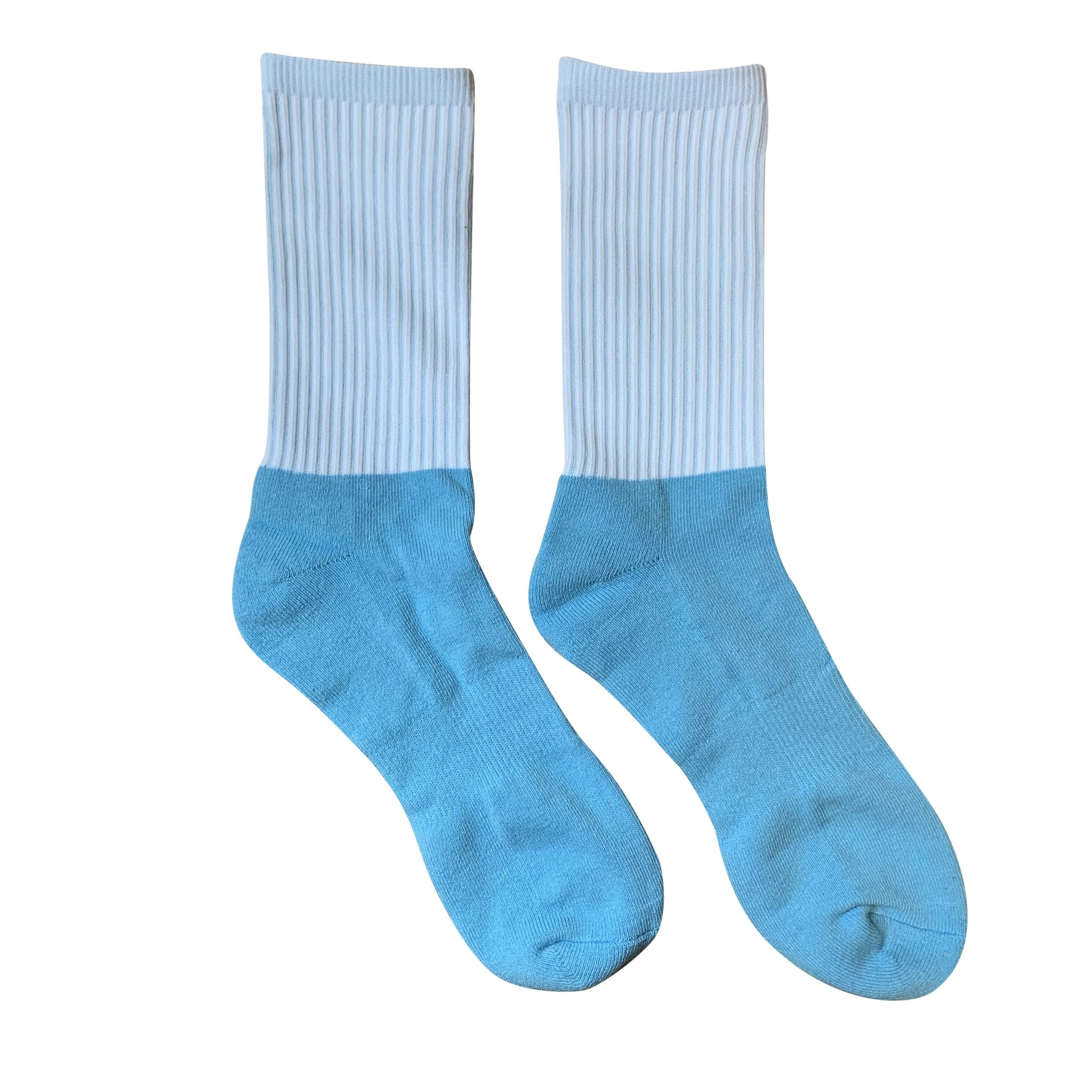Blank Athletic Socks for Sublimation - Cotton Bottom