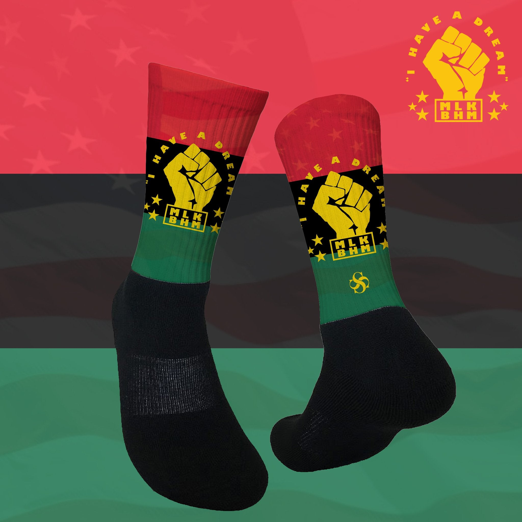 MLK - I Have A Dream Socks!
