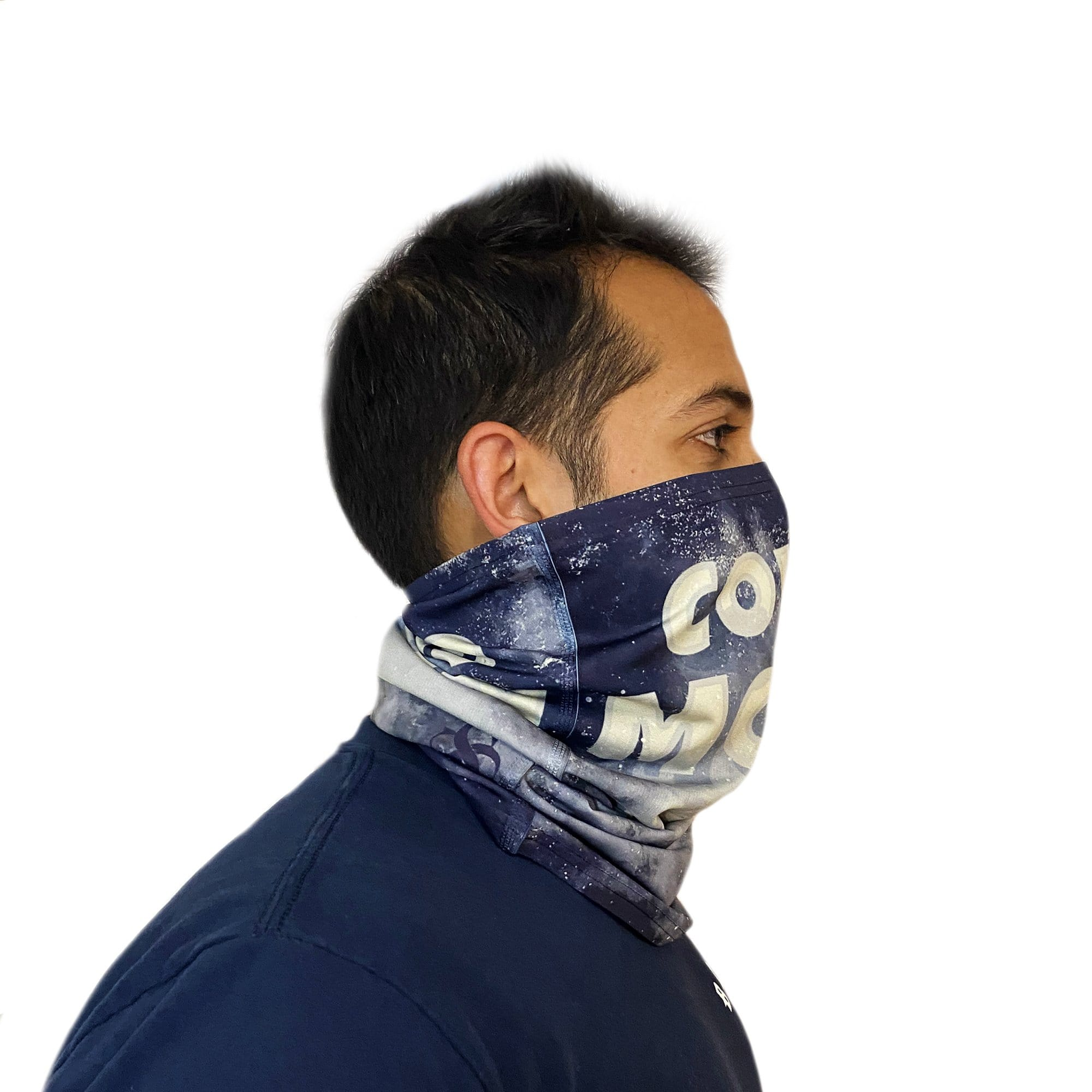 Covid Moon Neck Gaiter