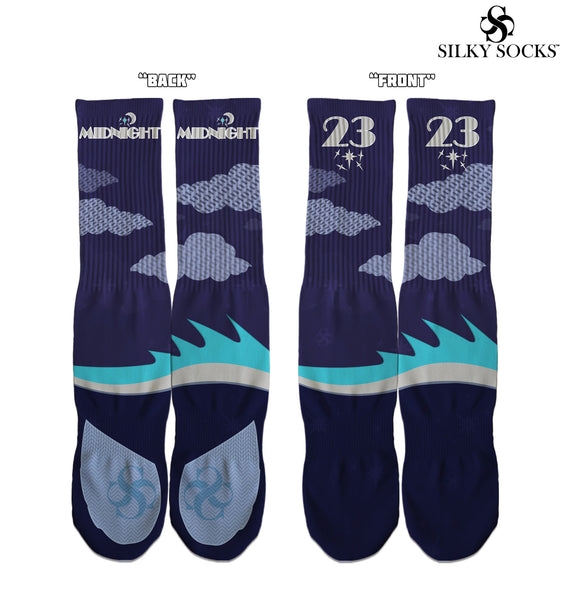 """Midnight Navy"" Custom socks! - SILKY SOCKS - official store"