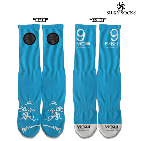 Silky Socks to Match Air Jordan PANTONE 9 Low Sneakerhead socks sublimation all over print michael jordan