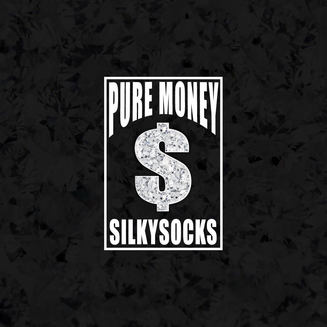 Pure money silky socks cash money