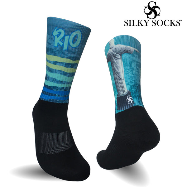 Silky Socks to match Jordan 10 Rio Sneakerhead Shoes Michael Jordan 23 sublimation all over print