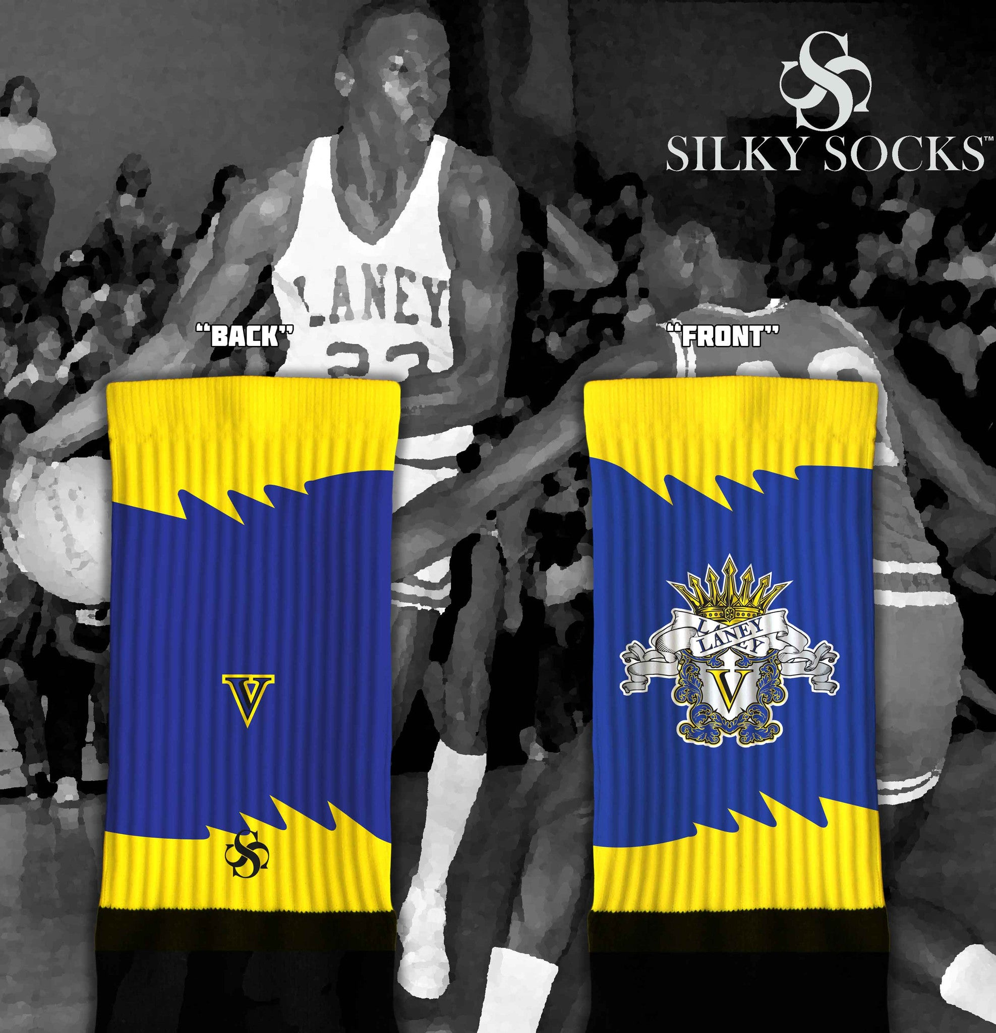 Royal Laney - 2 colorways - SILKY SOCKS - official store