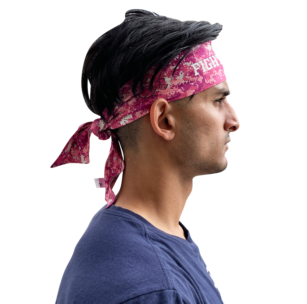 Fight Back Pink Headband