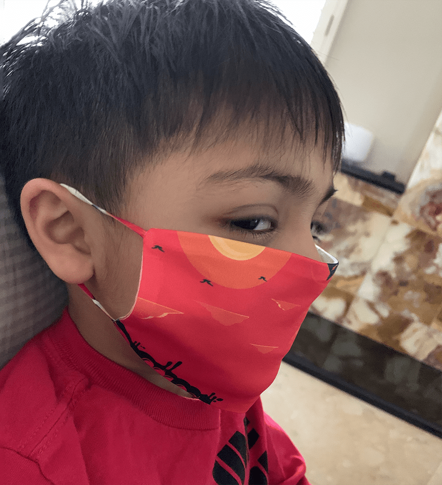 Blank KIDS Face Masks- *In Stock