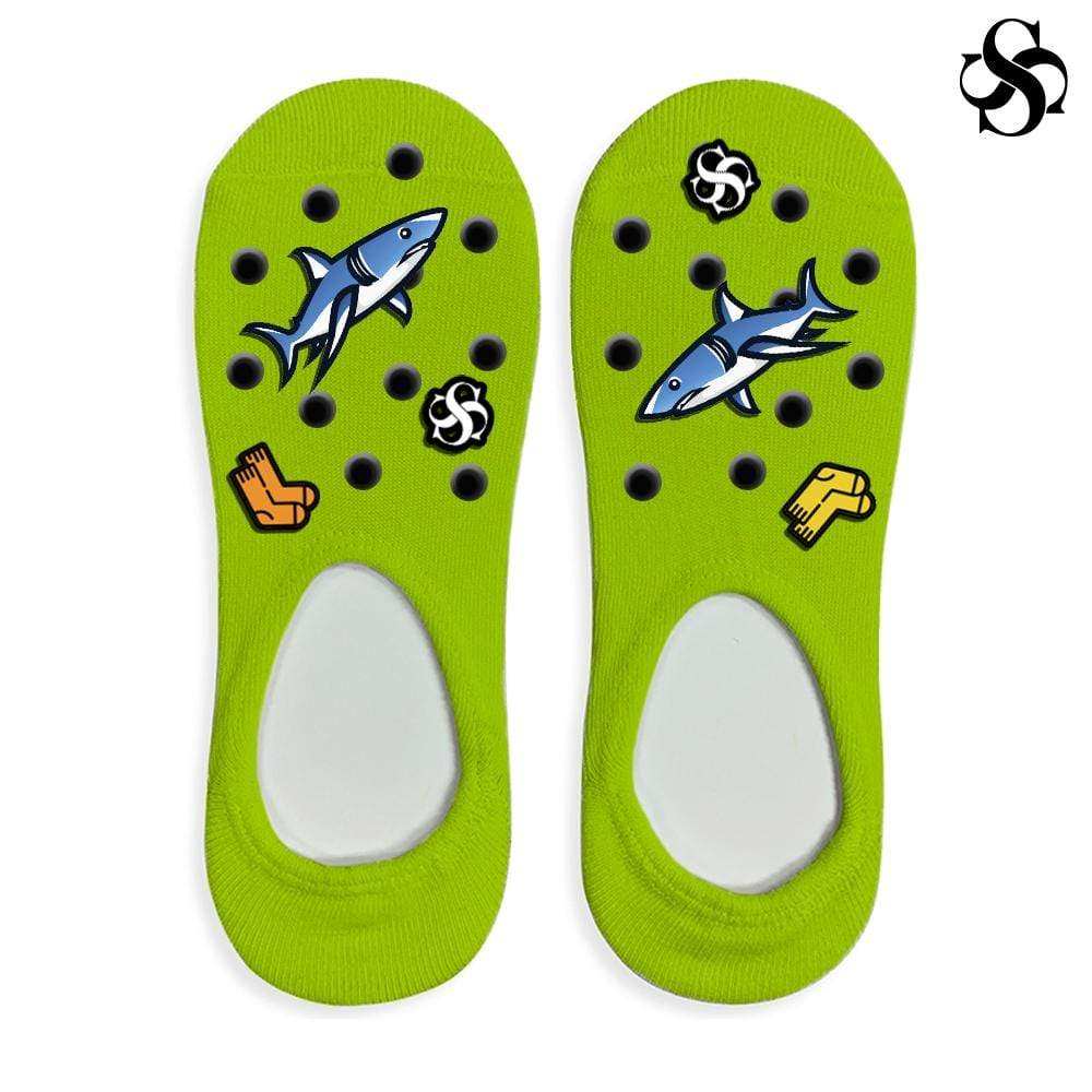 Silky Customizable Crocs Socks Digital File