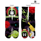 Silky Martian Custom socks- 2 colorways! - SILKY SOCKS - official store