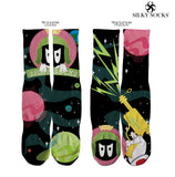 Silky Martian Socks- 2 colorways!