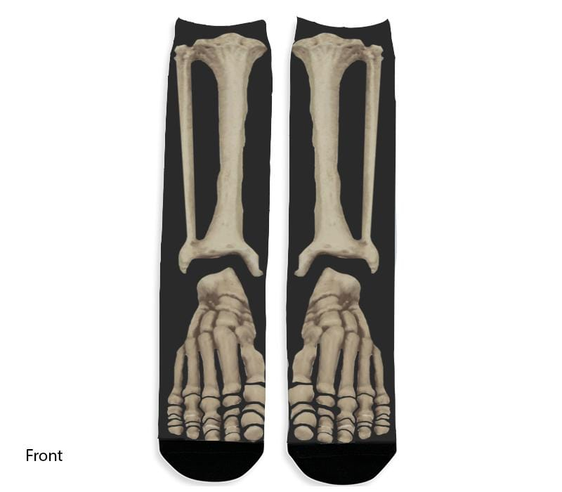Skeleton Bones Dress Socks
