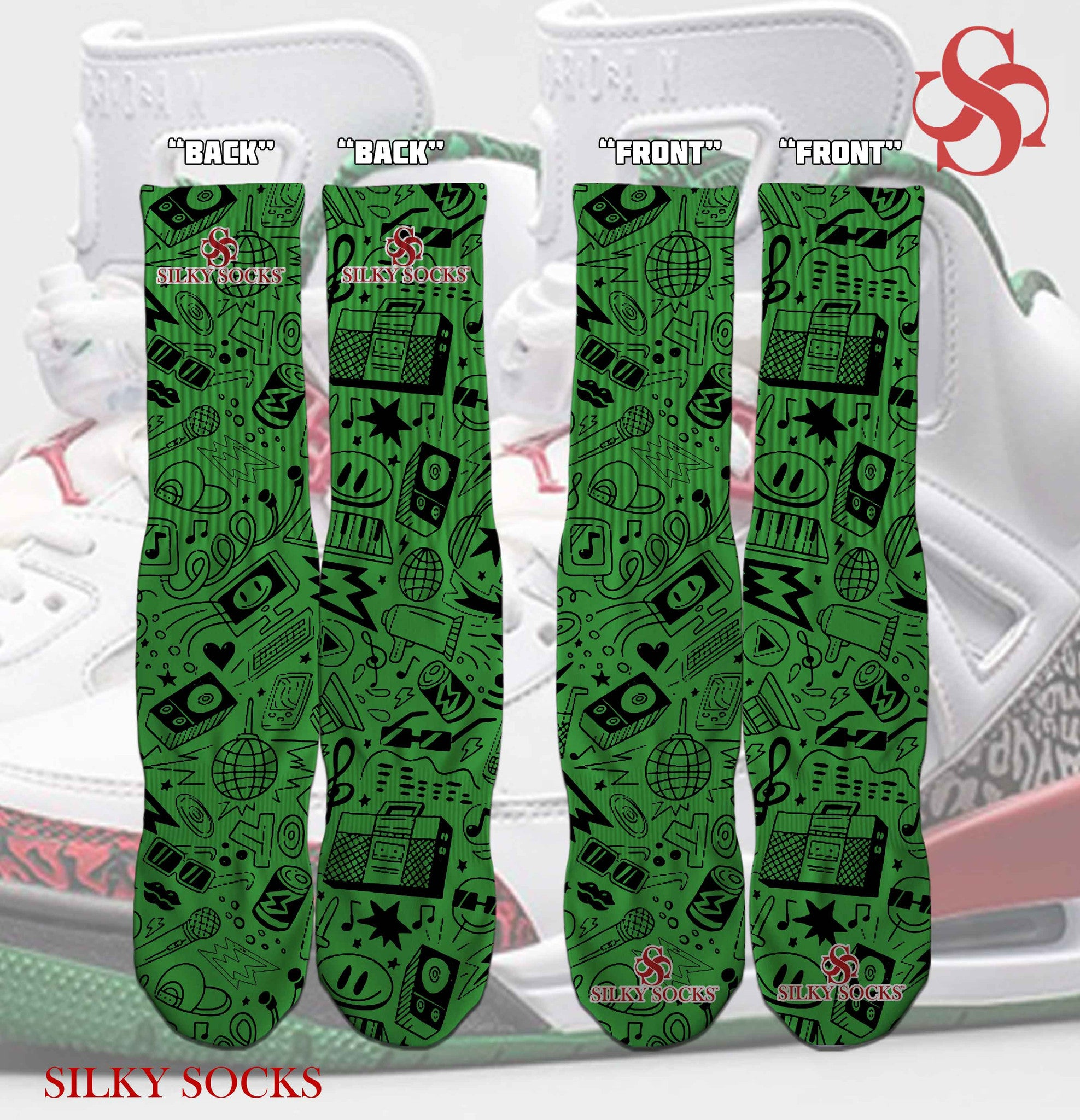 OG Spizike!! - SILKY SOCKS - official store