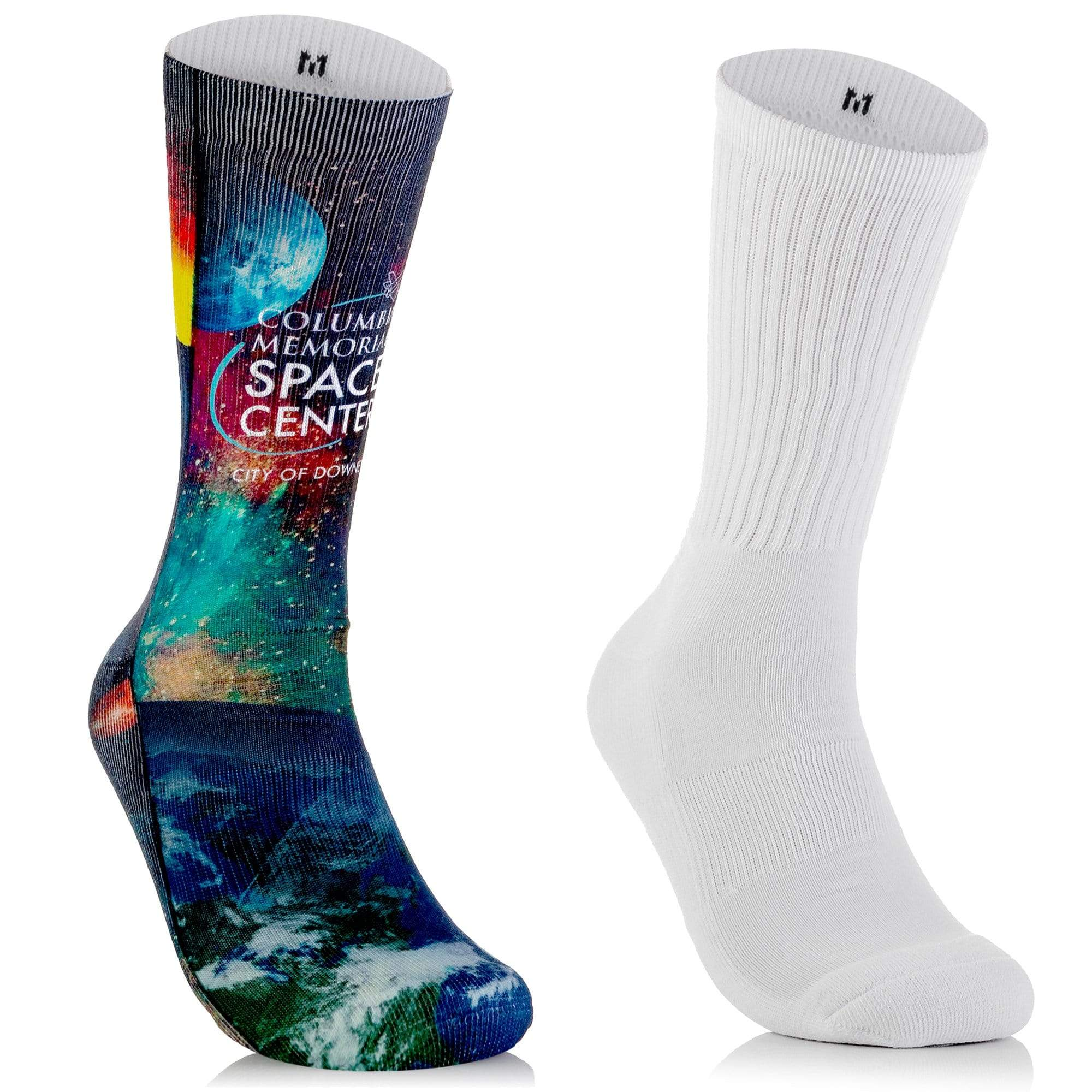 Blank Streetwear socks (Full Poly- Crew Length)