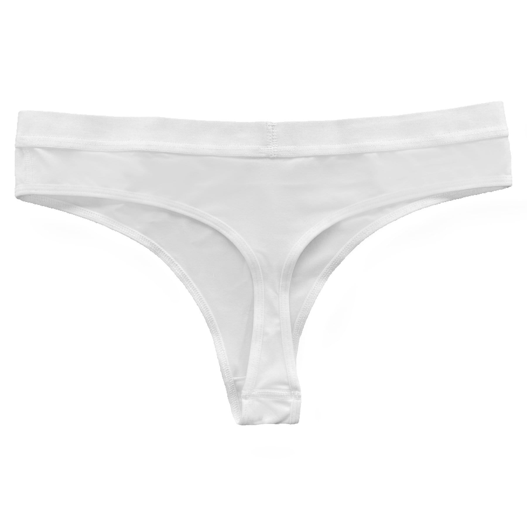 Blank Ladies Thong Underwear