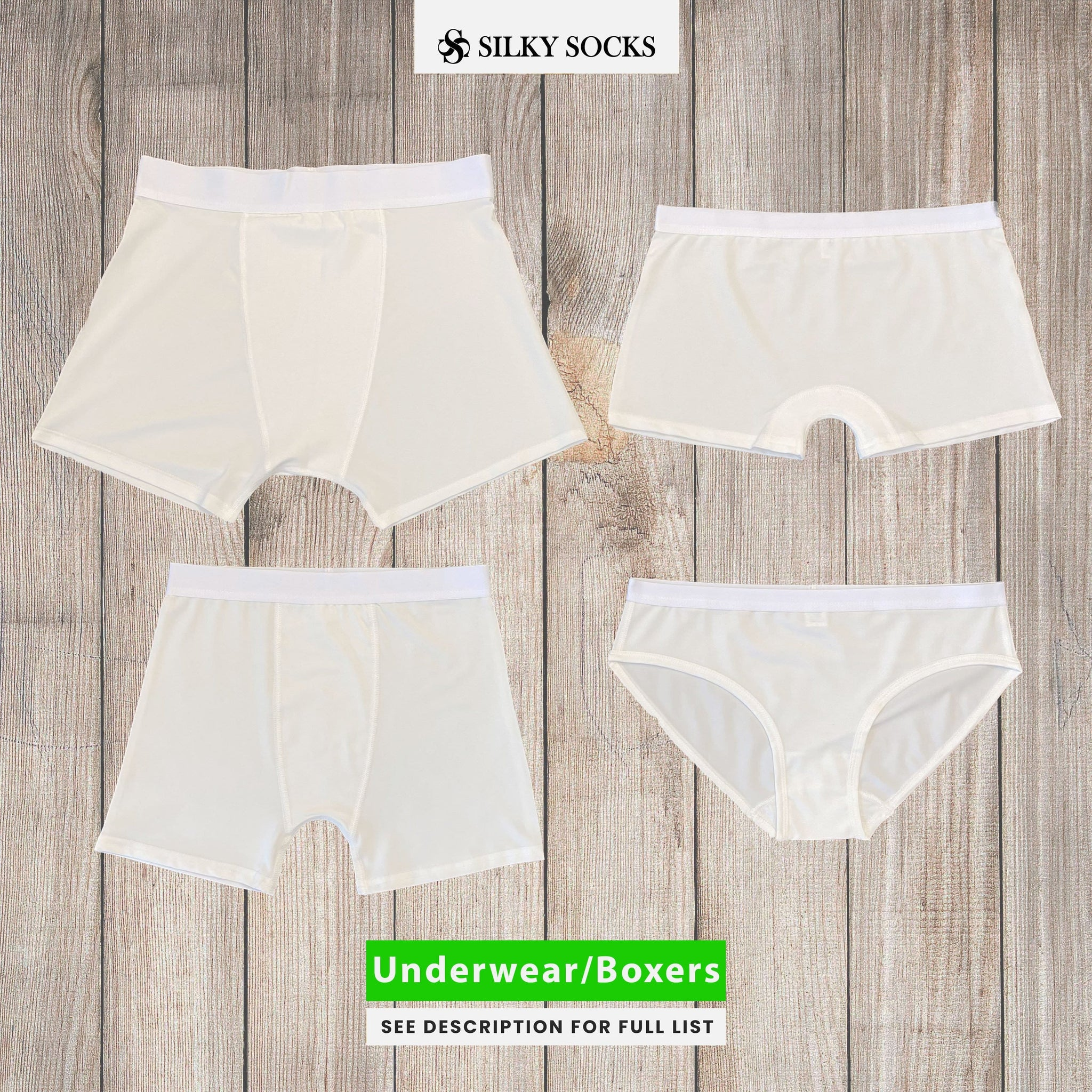 Sample Pack of Underwear/Boxers