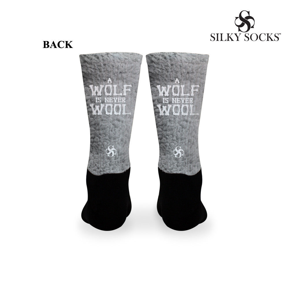 Wolf Never Wool Socks