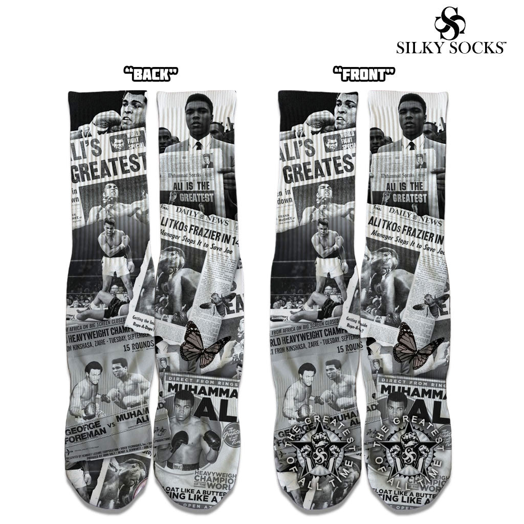 ALI Tribute Custom Socks! - SILKY SOCKS - official store
