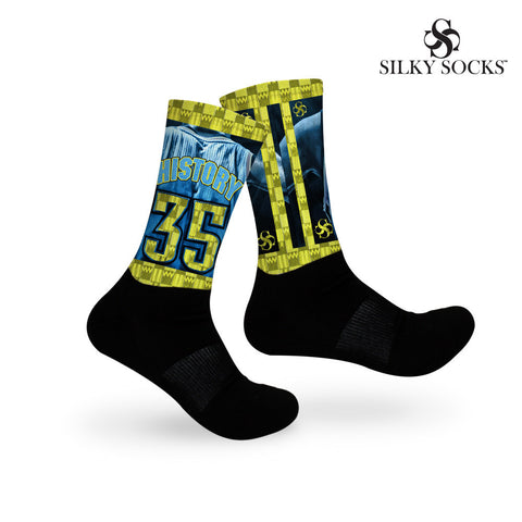 "HISTORY 35 - ""Warriors"" Socks!"