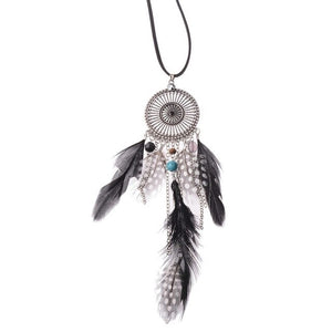 Collier Chaines et Plumes