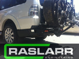 Mitsubishi Pajero Raslarr Rear Bar CUSTOM ONLY- PLEASE EMAIL FOR DETAILS