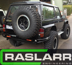 Nissan Patrol GQ Y60 Tourer Raslarr Rear Bar EMAIL FOR SHIPPING QUOTE BEFORE ORDERING