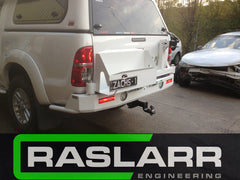 Toyota Hilux Dual Cab Raslarr Rear Bar PLEASE EMAIL FOR SHIPPING QUOTE BEFORE ORDERING