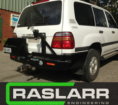 Toyota LandCruiser 100 Series Raslarr Rear Bar EMAIL FOR SHIPPING QUOTE BEFORE ORDERING